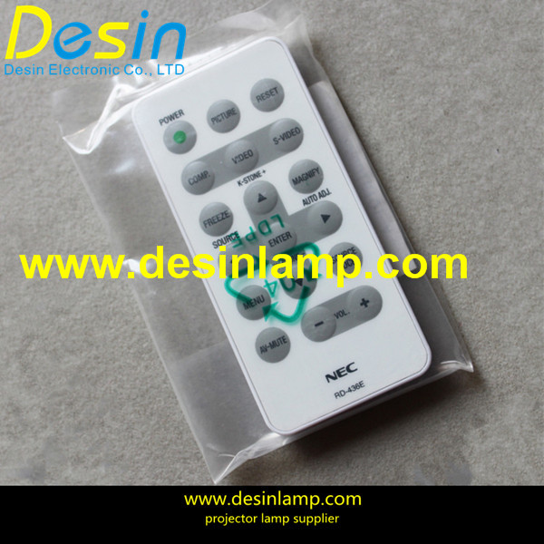 wholesale NEC NP100,NP100+,NP200+ projectors replacement remote control